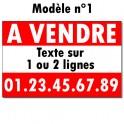 """Panneau """"A VENDRE"""" - 60 x 80 cm"""